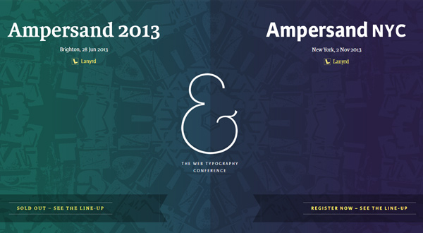 Ampersand-Conference