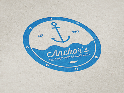 Anchor's Logo by Alpis Design