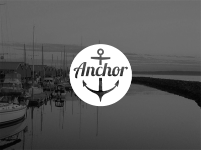 Anchor Logo by Sam Stratton