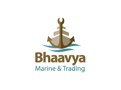 bhaavya1 35 Anchor Based Logo Design Examples