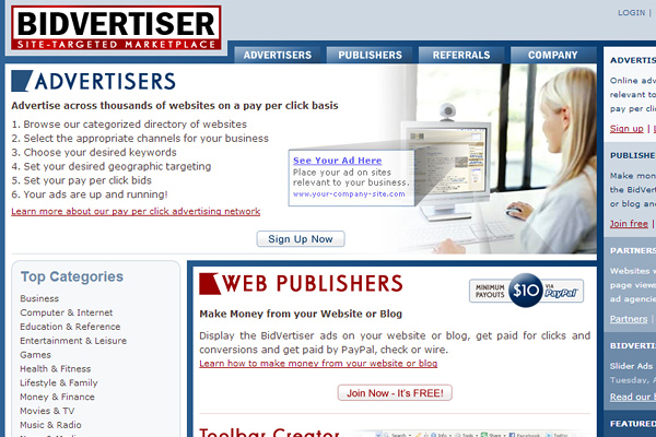 bidvertiser Contextual Advertisement Providers: The Best Alternatives to AdSense
