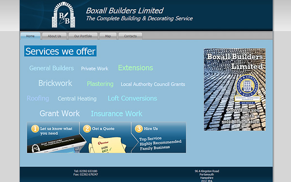 boxallbuilders Case Study: Why are Tradesman Websites so Bad?