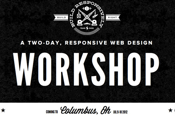build responsively 25 Well Designed Event Websites