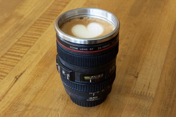 Nikon Lens Flask & Mug