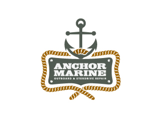 cbe5a88cb71764d4ed743103acad45c71 35 Anchor Based Logo Design Examples