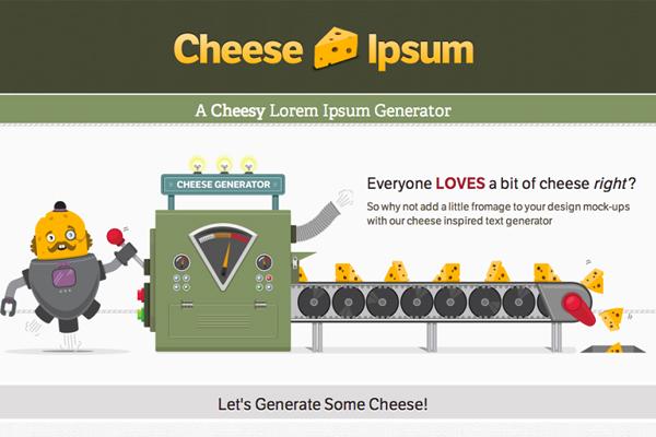 Cheese-Ipsum
