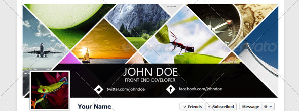 facebook timeline creative Top 40 Premium Facebook Timeline Cover Photo Templates