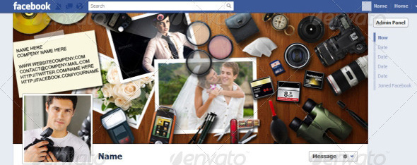 facebook timeline photography cover Top 40 Premium Facebook Timeline Cover Photo Templates