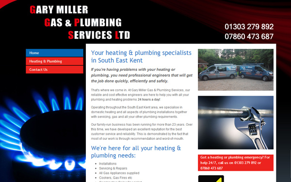 garymillergasservices Case Study: Why are Tradesman Websites so Bad?
