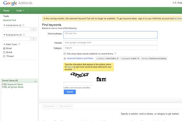 google-ad-word-tool