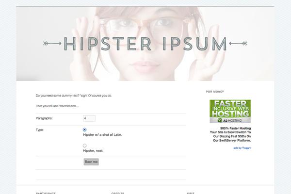 Hipster-Ipsum