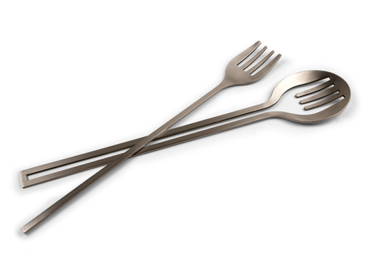 In/Set Salad Servers