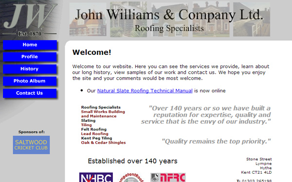 johnwilliamsroofing Case Study: Why are Tradesman Websites so Bad?