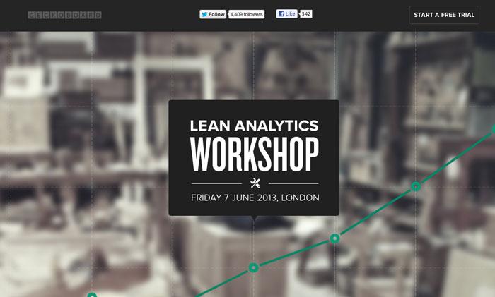 Lean Analytics London