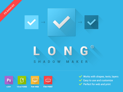 long shadow maker 1x1 Long Shadow Design: A Pointless Trend?