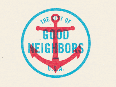 The City of Good Neighbors & Buffalo Wings by Michael Smith
