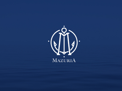 mazuria 1x1 35 Anchor Based Logo Design Examples