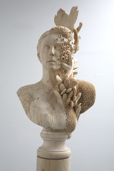 Wood Sculpture by Morgan Herrin