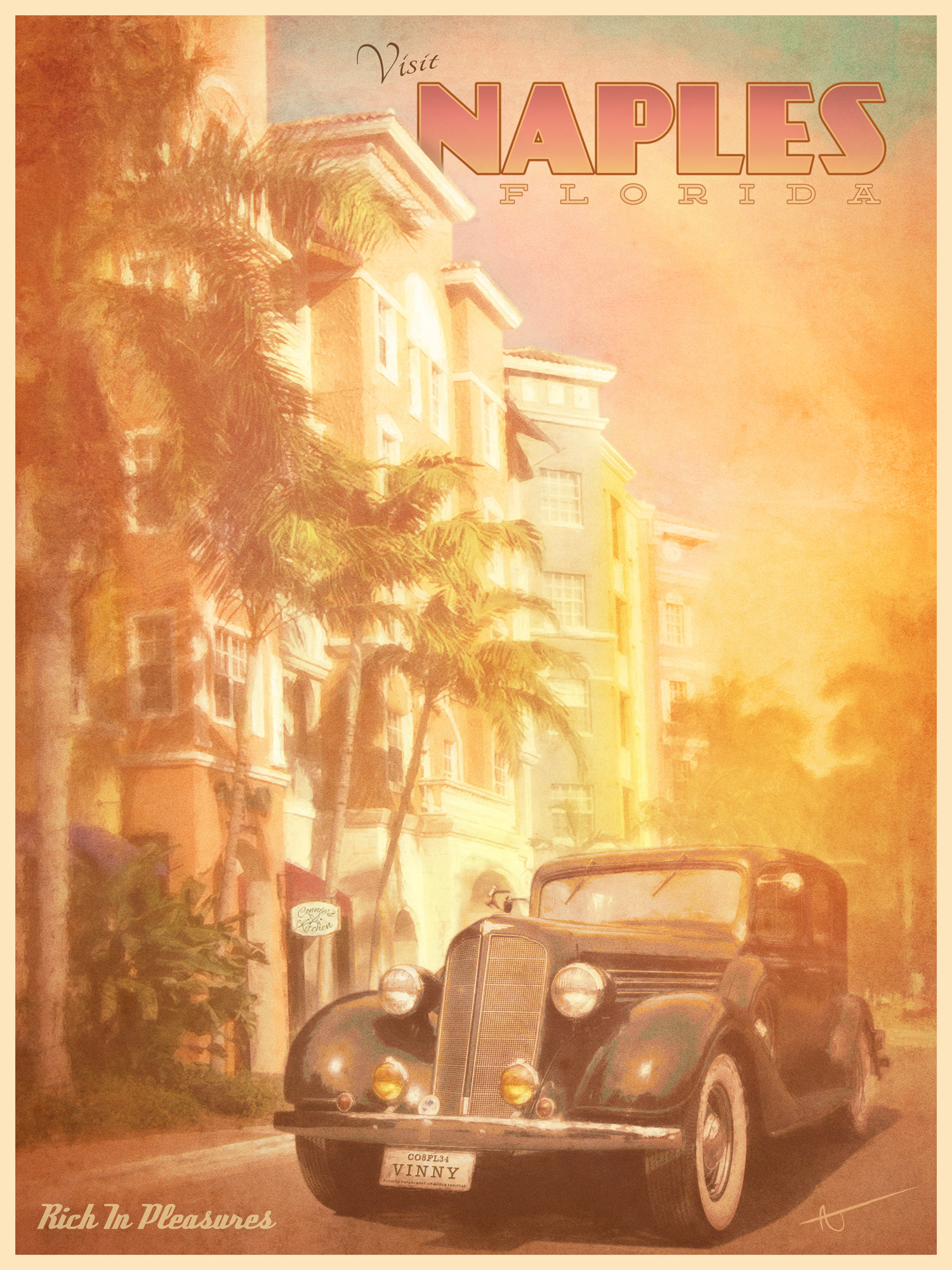 Vintage Travel Poster Series by AJ Brockman Follow