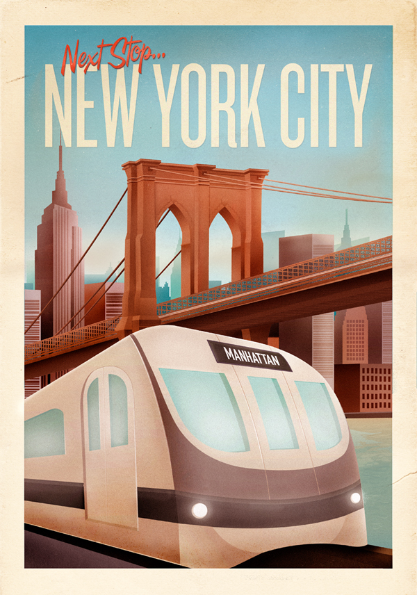 30 Cool Vintage Travel Posters