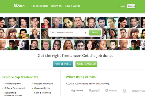 odesk Top Outsourcing Websites for Entrepreneurs