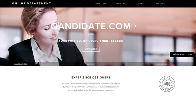 onlinedepartment 30 Outstanding Full screen Websites