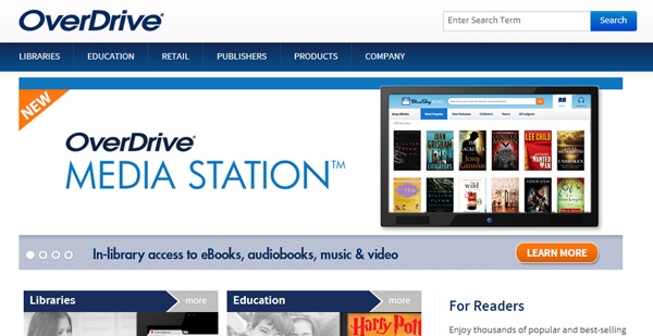 overdrive How and Where to Get Free eBooks