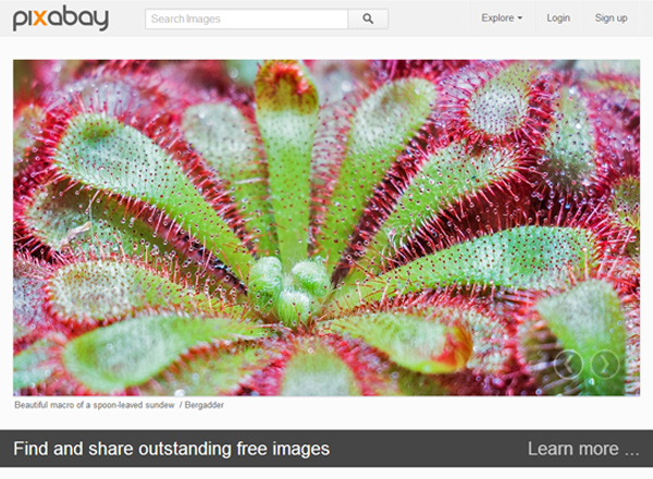 pixabay 25 Free Stock Photo Websites