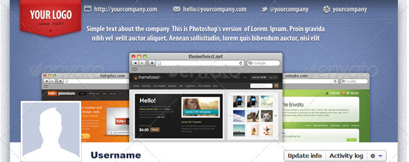 professional facebook timeline cover Top 40 Premium Facebook Timeline Cover Photo Templates
