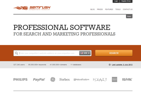 semrush Six Free and Useful Keyword Research Tools