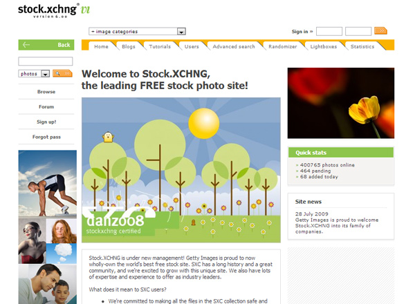 stock xchng 25 Free Stock Photo Websites