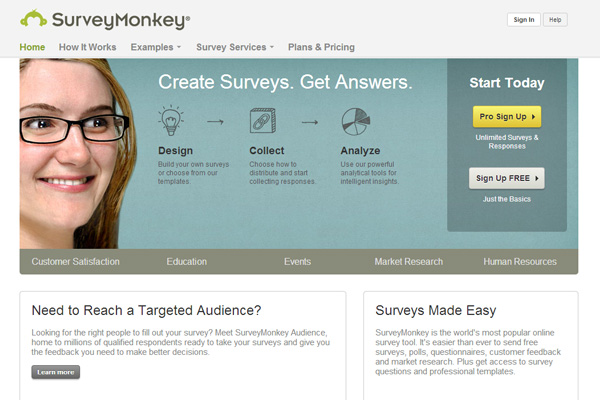 survey monkey 6 Frugal Survey Tools for Bloggers