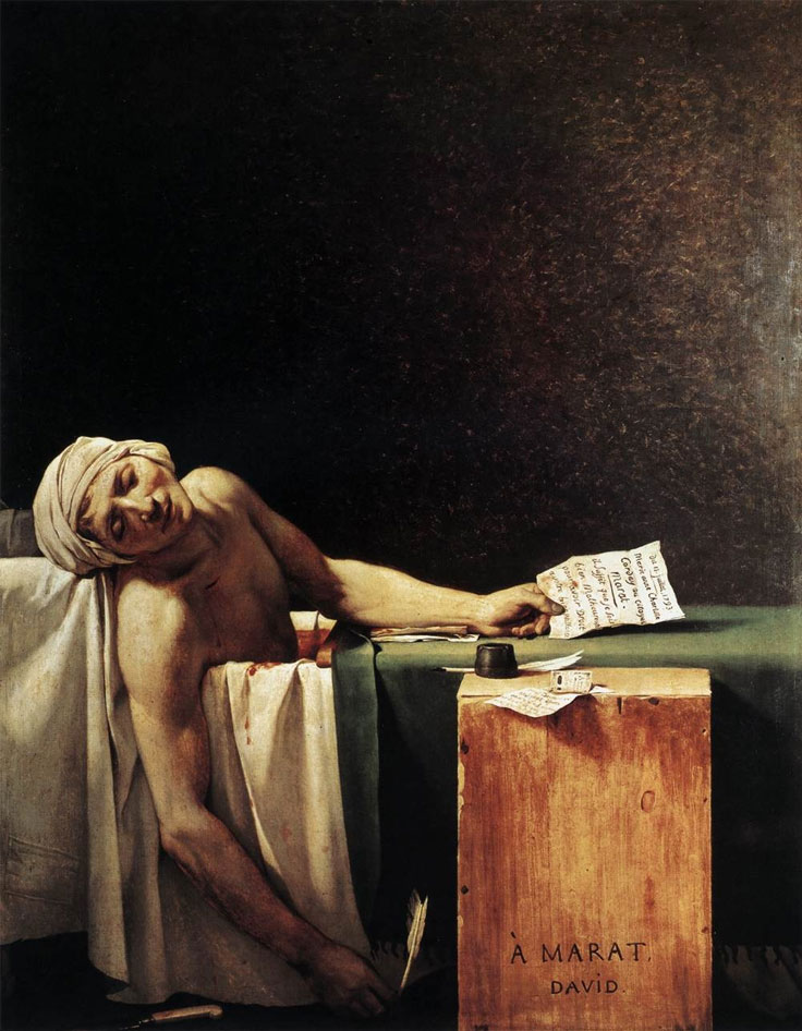 The-Death-of-Marat-by-Jacques-Louis-David