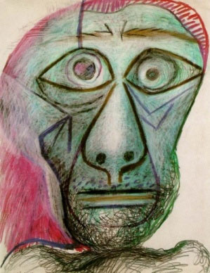 This-is-Pablo-Picasso's-1972-work-titled-Self-Portrait-Facing-Death