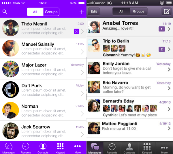 Viber iOS7