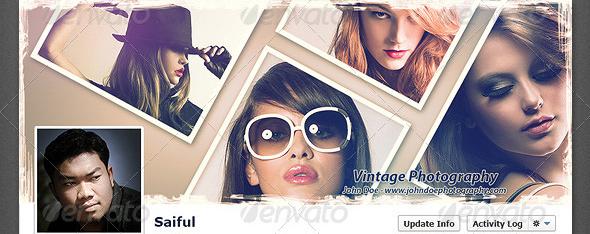 Vintage Photography Timeline Cover