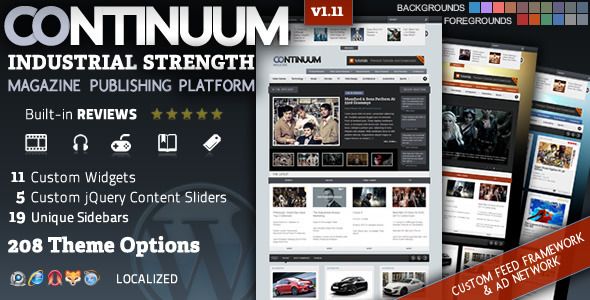 01   large preview13 20 WordPress Review Magazine Themes
