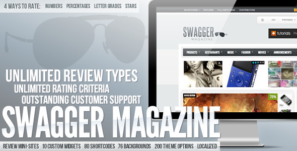 01   large preview14 20 WordPress Review Magazine Themes