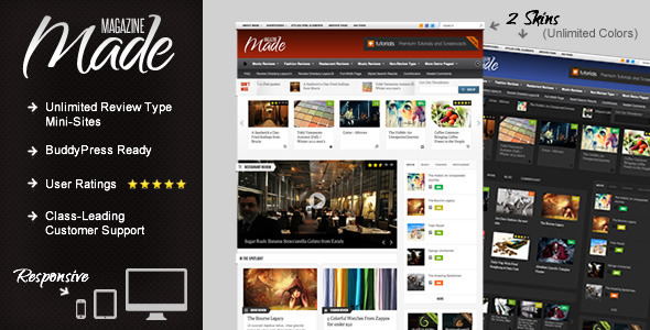 01   large preview15 20 WordPress Review Magazine Themes