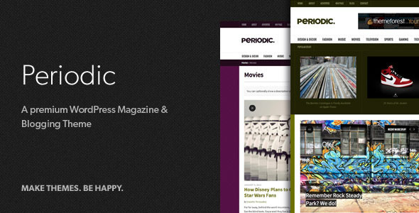 01 periodic promo   large preview1 20 WordPress Review Magazine Themes