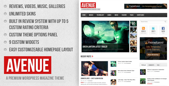 01 preview   large preview13 20 WordPress Review Magazine Themes