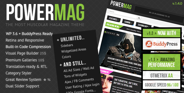 01 preview   large preview17 20 WordPress Review Magazine Themes