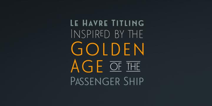 Le Havre Titling