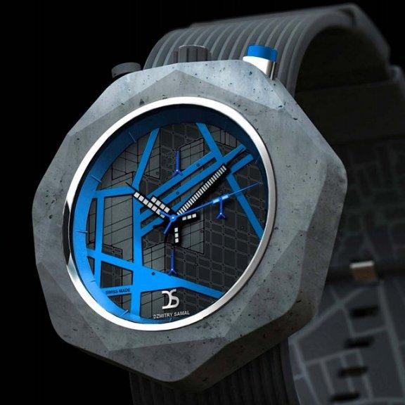Concrete Watch by Dzmitry Samal