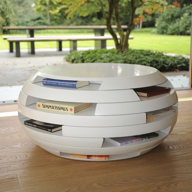 Disc Coffee Table by Gabriella Asztalos