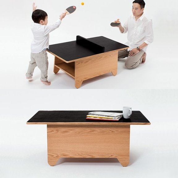 Ping Pong Table by Huzi Design