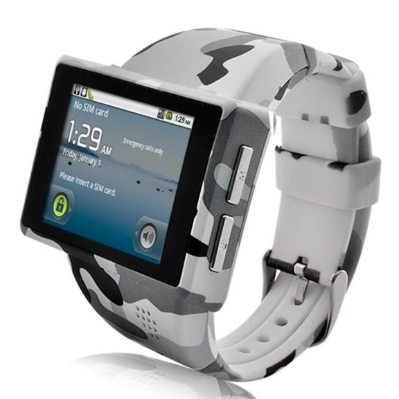 Camo Android Phone Watch