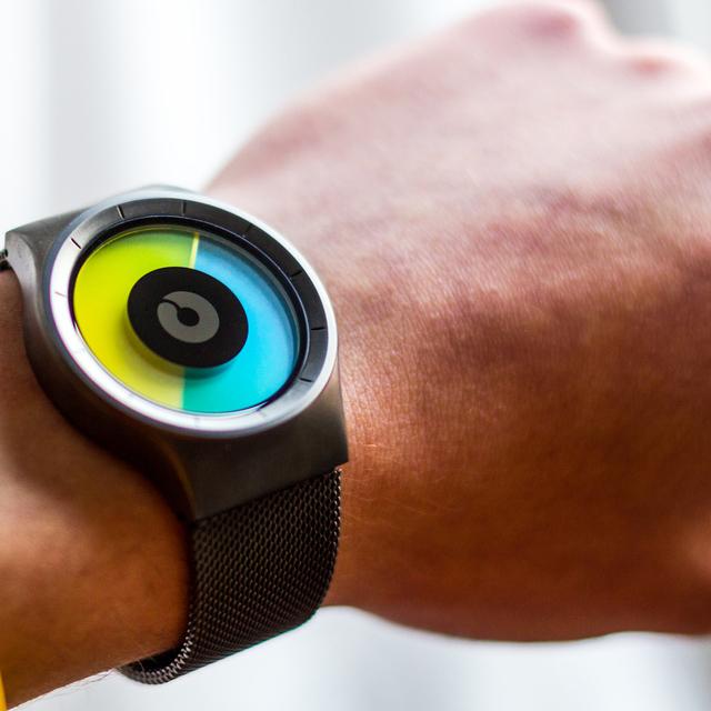 Celeste Chrome Watch by Ziiiro