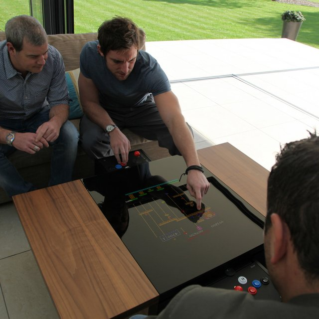 Dual Arcade Coffee Table by Surface Tension