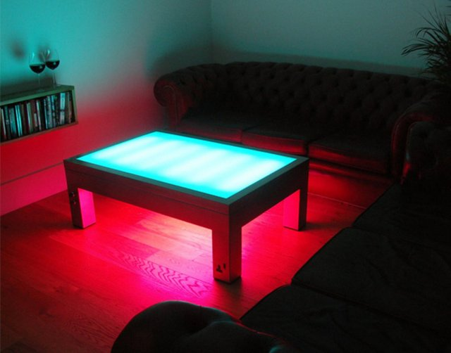 Illuminating Coffee Table